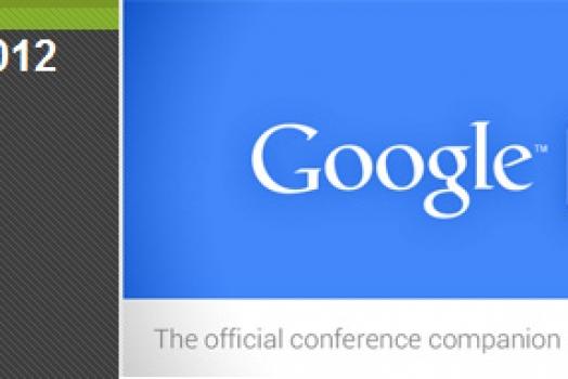Baixe o aplicativo oficial do Google I/O 2012