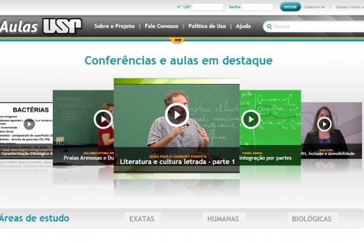 USP disponibiliza mais de 800 videoaulas gratuitas em novo portal