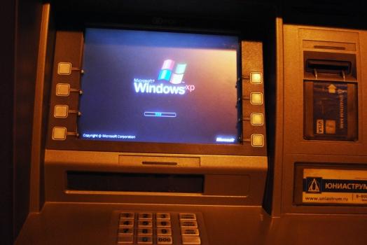 Fim do suporte ao Windows XP vai afetar 95% dos caixas eletrônicos de todo o mundo