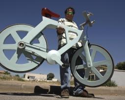 Bicicleta de Papelão está próxima de se tornar realidade. E por apenas 20 dólares.