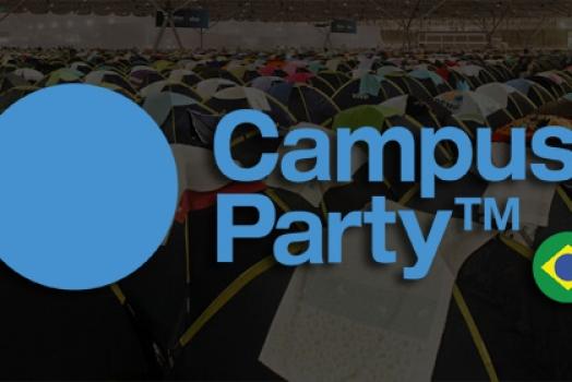 Começa a 5a edição da Campus Party Brasil