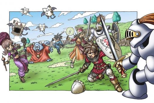 Jogos da franquia Dragon Quest estão chegando nas plataformas mobile