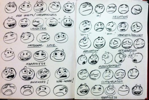 Facebook contrata artista da Pixar para redesenhar seus emoticons