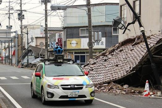Google Street View captura imagens de cidade fantasma próxima a Fukushima
