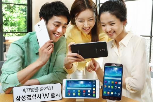 Samsung lança o celular de 7 polegadas Galaxy W