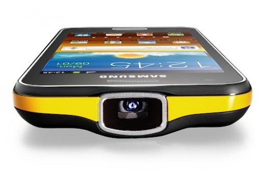 Samsung anuncia Galaxy Beam, o celular com projetor