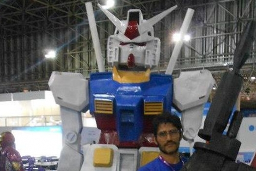 Campus Party 2013 – Casemods #1 – O Gundam de 3 metros do Casemonstro!
