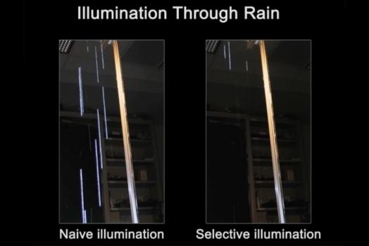 Intel cria faróis de carro que ocultam o reflexo da chuva