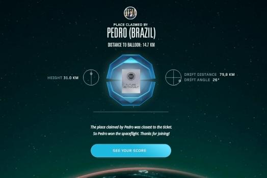 Estudante de 21 anos será o segundo brasileiro a ir no espaço