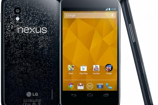 """Nexus 4 será lançado no Brasil, e com Android """"puro"""""""