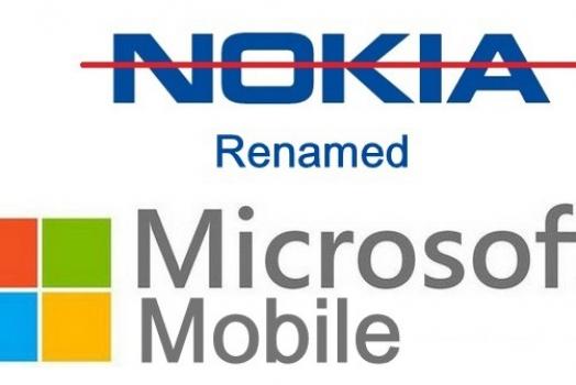 Nokia poderá ter nome mudado para Microsoft Mobile