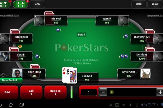 Conheça o PokerStars para mobile!