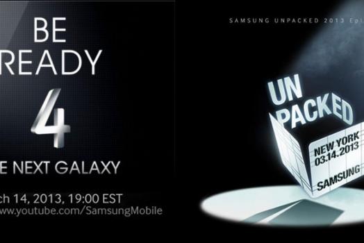 Samsung Galaxy S IV será anunciado hoje