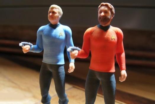 Empresa transforma você em uma figura de ação do Star Trek por 70 dólares