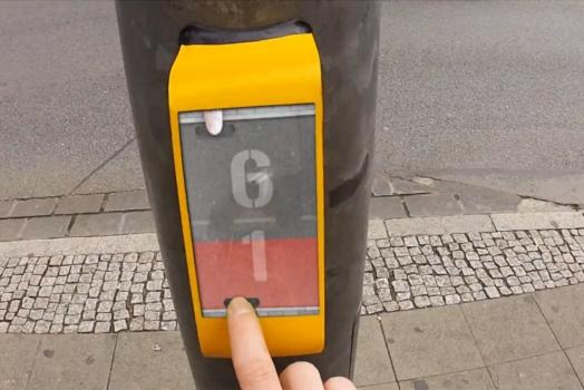 Conheça o Streetpong, sua nova distração nos sinais de trânsito