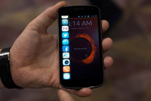 Smartphones com Ubuntu chegarão em Outubro