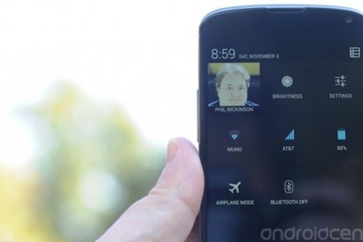 Nova versão do Android ganha atalho para funções básicas