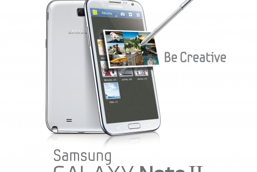 Samsung Galaxy Note II chega mês que vem ao Brasil por R$ 2.299