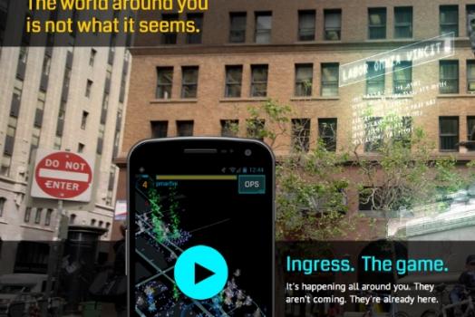 Google lança o jogo Ingress, uma nova experiência em games geolocalizados