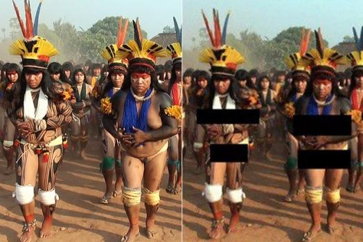 Remoção de fotos de índias pelo Facebook gera polêmica