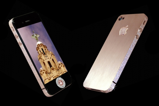 iPhone 5 coberto de diamantes é o smartphone mais caro do mundo