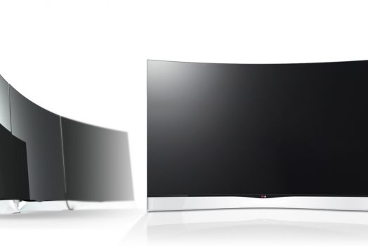 LG lança primeira TV LED do mundo com tela curva