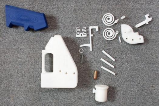 The Liberator é a primeira pistola do mundo que pode ser impressa em 3D