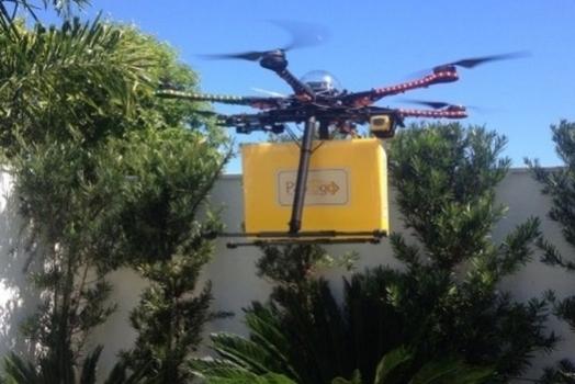 No céu tem pão? Padaria brasileira começa a realizar entregas com drones