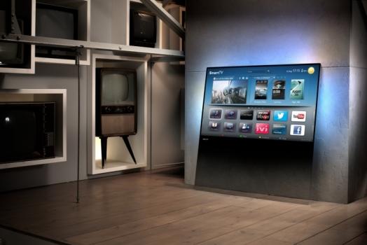 Nova TV da Philips é feita para ser apoiada na parede