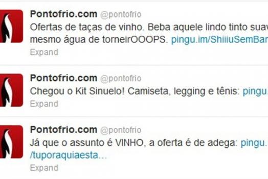 Ponto Frio faturou 20 milhões de reais com ações no Twitter e Facebook em 2012