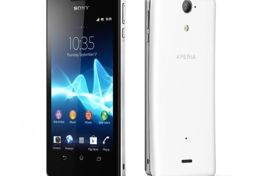 Xperia V apresenta nova tecnologia de tela touch