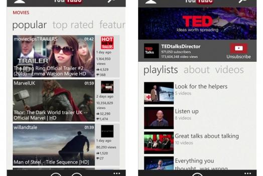 Windows Phone finalmente ganha aplicativo oficial do YouTube
